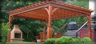Vineyard Pergola HomePlace Structures - Backyard vineyard design