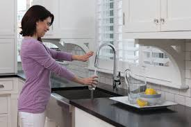 Hands Free Kitchen Faucet Faucet Com D423007 In Chrome By Danze
