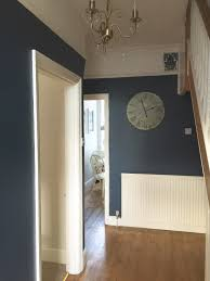 Stairway Landing Decorating Ideas by Our Hallway Farrow U0026 Ball Stiffkey Blue Love It Now Need To