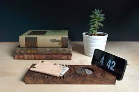 telephone stand desk organizer the handmade wooden desk organizer with phome stand gadgetsin