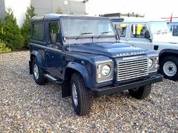 land rover metallic land rover defender 90 td4 sw non metallic tamar blue land