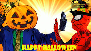 anime happy halloween frozen elsa werewolf spiderman joker happy halloween spiderman