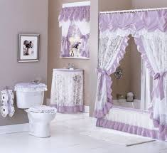 Double Swag Shower Curtain With Valance Amazon Com Maderia Lace Sink Skirt 54