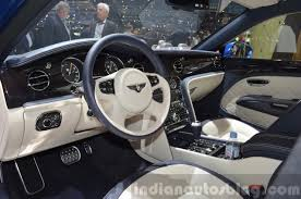 bentley 2017 interior 2015 bentley mulsanne speed interior view at 2015 geneva motor