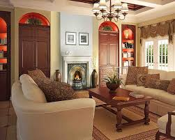 natural design of the interior colors for mobile homes with