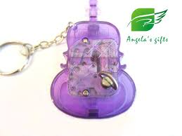 Music Box Keychain Aliexpress Com Buy Acrylic Violin Keyrings Music Box 18 Notes