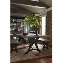home trends design london loft dining table in walnut dining room furniture texas furniture hut