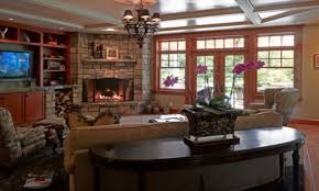Traditional Living Room Ideas by Magnificent Traditional Living Room Ideas With Corner Fireplace