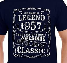 turning 60 birthday gifts 60th birthday gift t shirt for 60th vintage present