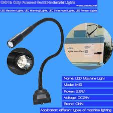 led gooseneck machine light ip65 gooseneck magnetic l industrial led machine l view