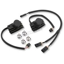 accel black stealth supercoil kit 140411bi harley davidson