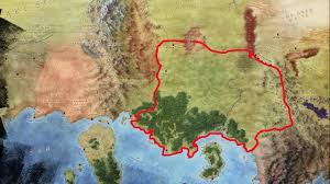 Map Of Essos Golden Empire Of Yi Ti And Leng Island Essos Youtube