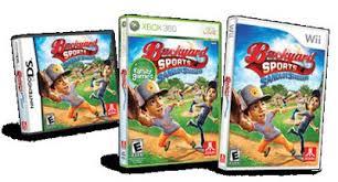 Wii Backyard Football by Backyard Sports Sandlot Sluggers For Wii Review U0026 Giveaway
