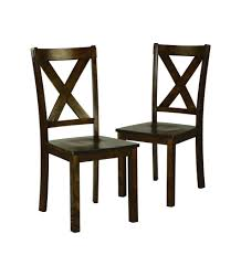essential home kendall dining chairs set of 2