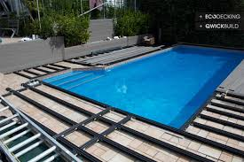 outdure pool decking makeover poolside installation laid on tiles