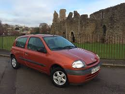 1998 r renault clio grande rn orange 1 1 petrol manual hatchback