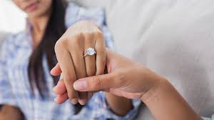 wedding ring big the larger the rock the rockier the marriage marketwatch