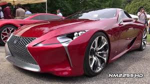 lexus lf lc interior lexus lf lc luxury sports coupè concept youtube