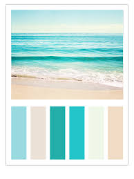 teal beach color scheme inspired by carolyn cochrane u0027s ocean