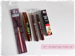 w7 budget eye make up beauty best friend uk beauty blog