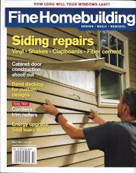 details about fine homebuilding magazine siding repairs cabinet