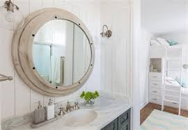 Beachy Bathroom Mirrors Coastal Bathroom Mirrors