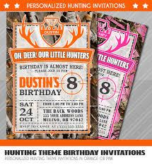 hunter birthday invitations little hunter birthday invitation