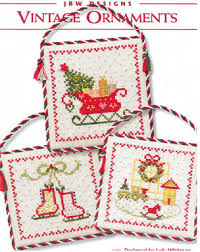 jbw designs vintage ornaments cross stitch pattern 123stitch