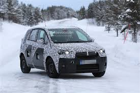 opel meriva 2017 2017 opel meriva spyshots show that the mpv lost its reverse