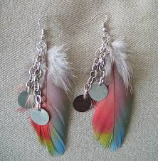 feather earrings for kids women wear fashion feather earrings adworks pk adworks pk