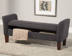 Storage Bench With Cushion Bench Kavari Bench Contemporary Bedroom Storage Bench Design
