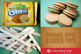 caramel apple oreo cookie pops u2013 bakerella com
