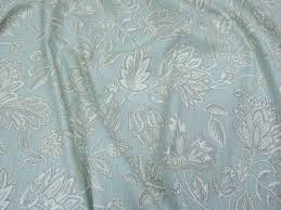 Duck Egg Blue Damask Curtains Amore Duck Egg 100 Cotton Fabric Curtains Upholstery