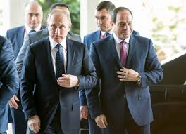 Russia Assad Deliver Blow To by Russia U0027s Putin Lands In Egypt In Sign Of Growing Ties Boston Herald