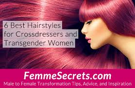 first girl haircut transgender 6 best hairstyles for crossdressers and transgender women