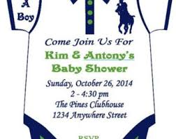 polo themed baby shower horseman decals for balloons and more read description before