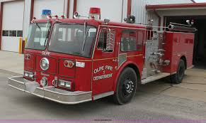 1979 seagrave pumper firetruck item e8439 sold wednesda