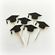 graduation cap cake topper best 25 graduation cupcake toppers ideas on