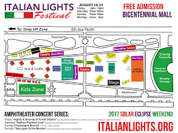 Ball State Parking Map by Festival Grounds Map Free Parking Maps Italian Lights