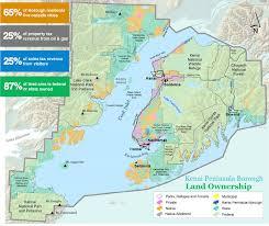 Land Ownership Map Kenai Peninsula Borough Comprehensive Plan U2013 A Comprehensive