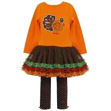 Thanksgiving Tutu Dresses Amazon Com Little Girls 2t 6x Thanksgiving Turkey Tutu Dress