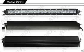 20 single row led light bar aurora 10 led light bar combo beam 4900 lumens 50 watt 10 x 5w led