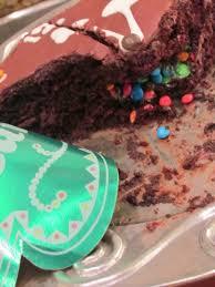 new years eve chocolate cake recipe into a clock cake