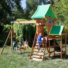 Amazon Backyard Playsets by Little Tikes Lookout Swing Set Tru 369 99 Amazon 575 99 Product