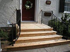 Front Entry Stairs Design Ideas Picket Entrance Steps Design Concepts 15 Patio Step Concepts By