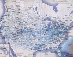 Delta Airlines Route Map by Maps Yunnan Air Routes Matt Hartzell U0027s Blog