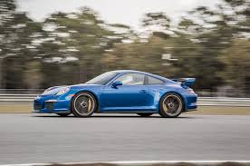 2018 blue porsche 911 gt3 awesome 500 hp engine sound and track 307 miles in georgia in a 2015 porsche 911 gt3