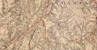Maps Of Atlanta by Hammonds House