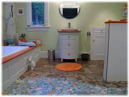Bathroom Floor Mosaic Tile - decorative ceramic tile custom hand made tile tiles with style