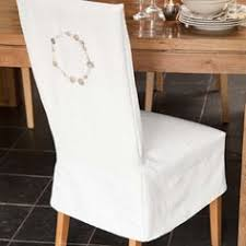 Seat Covers For Dining Chairs Dining Chair Seat Slip Cover With Button Tabs Instead Of Ties